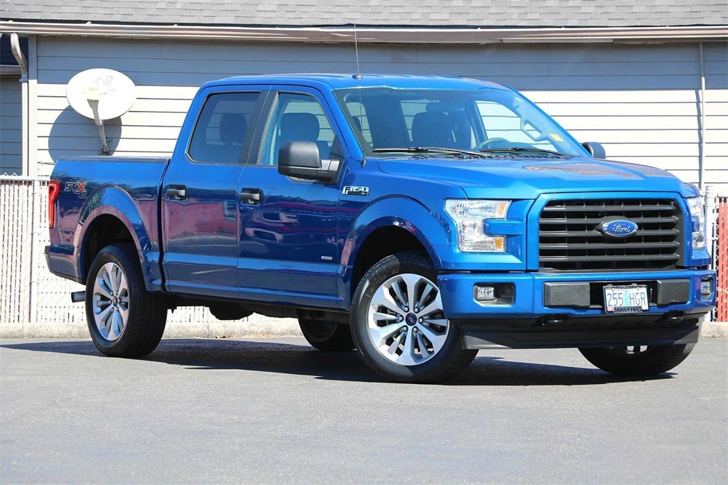 2017 Ford F-150 SuperCrew Cab 4x4, Pickup #205089A - photo 1