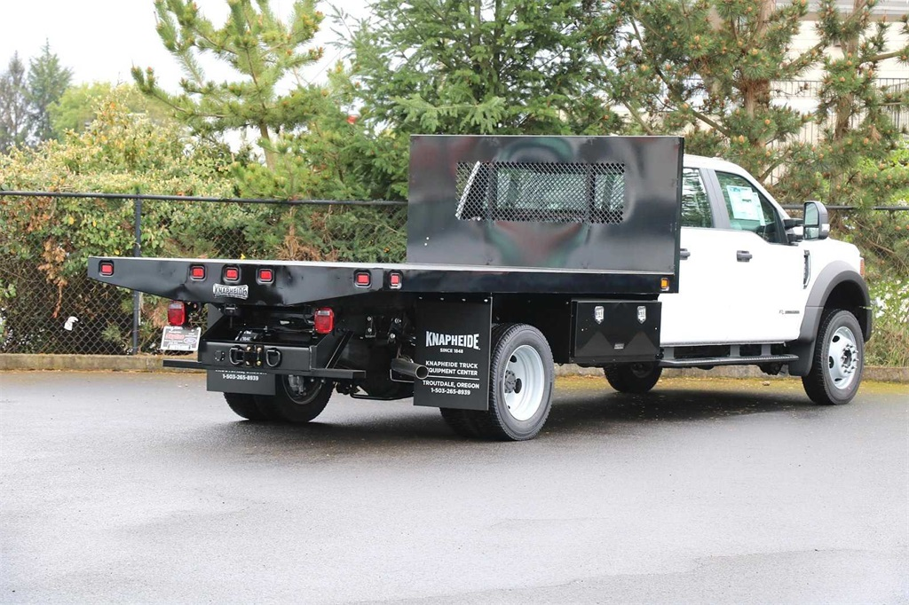 2020 Ford F-450 Crew Cab DRW 4x4, Knapheide Platform Body #205129 - photo 1