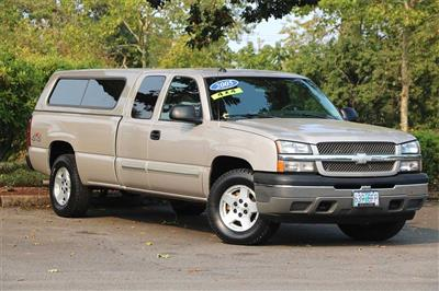 2005 Chevrolet Silverado 1500 Extended Cab 4x4, Pickup #205358A - photo 1