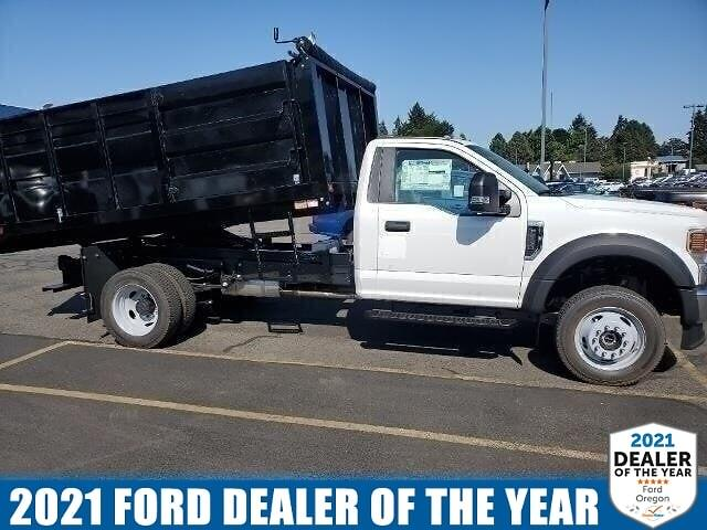 2020 Ford F-550 Regular Cab DRW 4x4, Knapheide Landscape Dump #205373 - photo 1