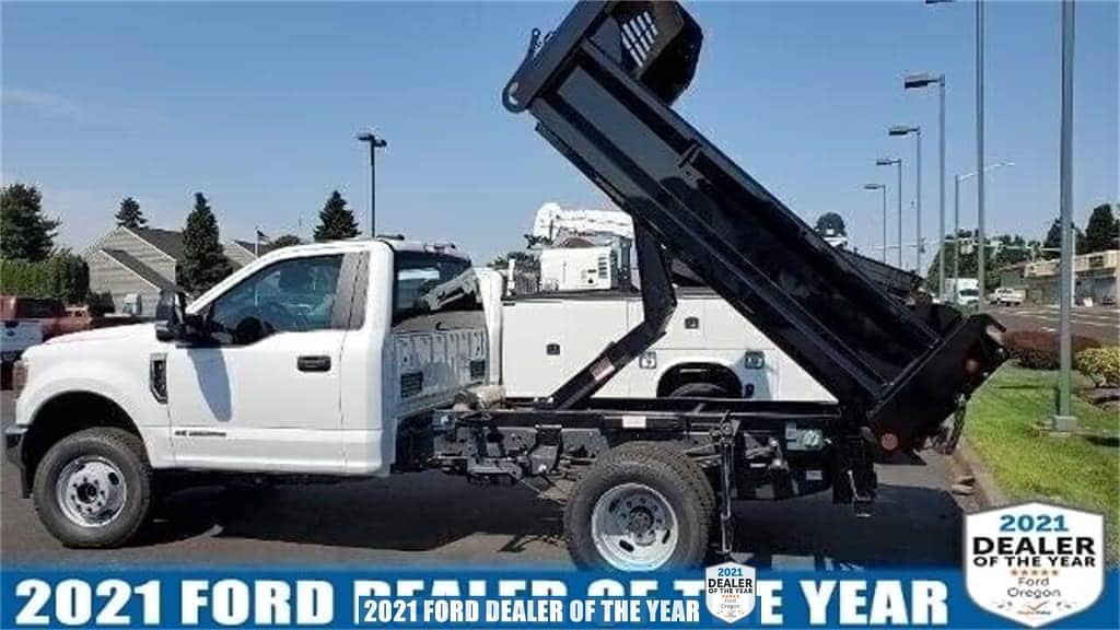 2020 Ford F-350 Regular Cab DRW 4x4, Crysteel Dump Body #205487 - photo 1