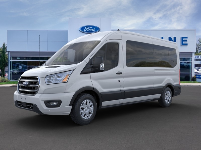 2020 Ford Transit 350 Med Roof RWD, Passenger Wagon #205503 - photo 1