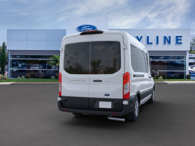 2020 Ford Transit 350 Med Roof RWD, Passenger Wagon #205503 - photo 8