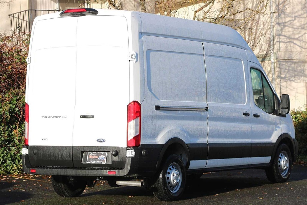 2020 Ford Transit 350 High Roof AWD, Sortimo Upfitted Cargo Van #205699 - photo 5
