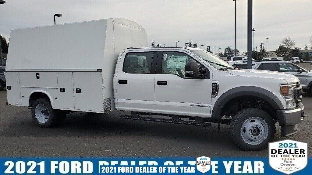 2020 Ford F-550 Crew Cab DRW 4x4, Knapheide KUVcc Service Body #205856 - photo 1