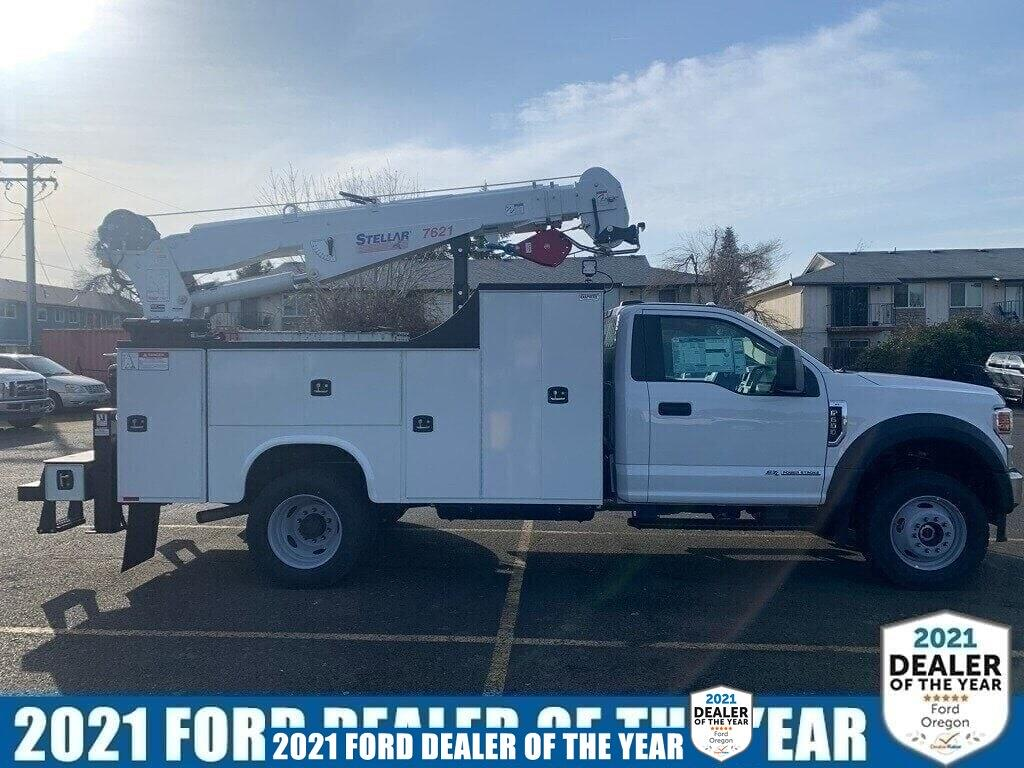 2021 Ford F-600 Regular Cab DRW 4x4, Knapheide Mechanics Body #216003 - photo 1