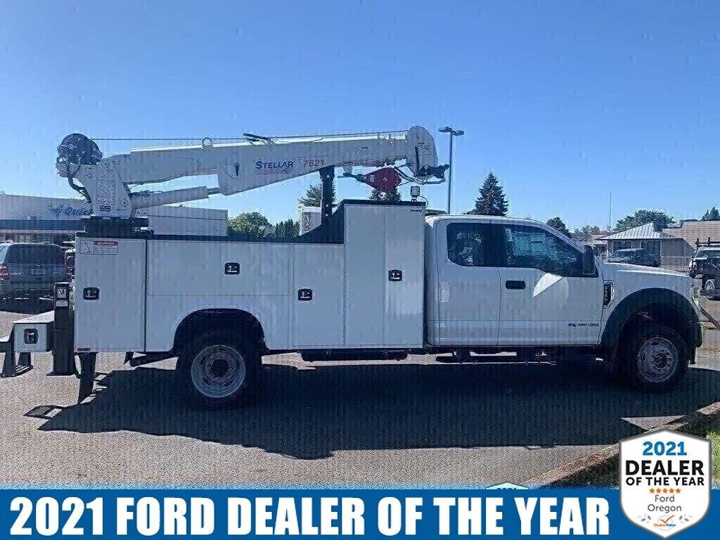 2021 Ford F-550 Super Cab DRW 4x4, Knapheide Mechanics Body #216156 - photo 1