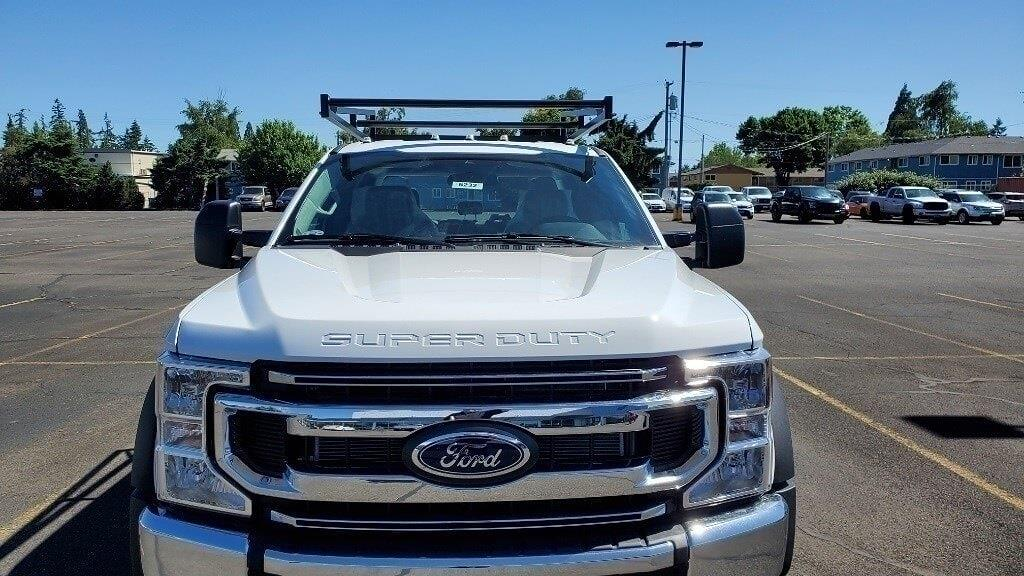 2021 Ford F-450 Crew Cab DRW 4x4, Cab Chassis #216232 - photo 1