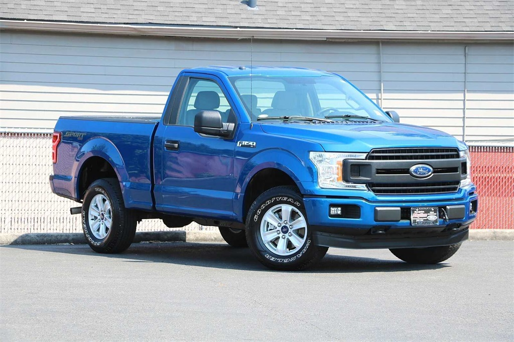 2018 Ford F-150 Regular Cab 4x4, Pickup #6547P - photo 1