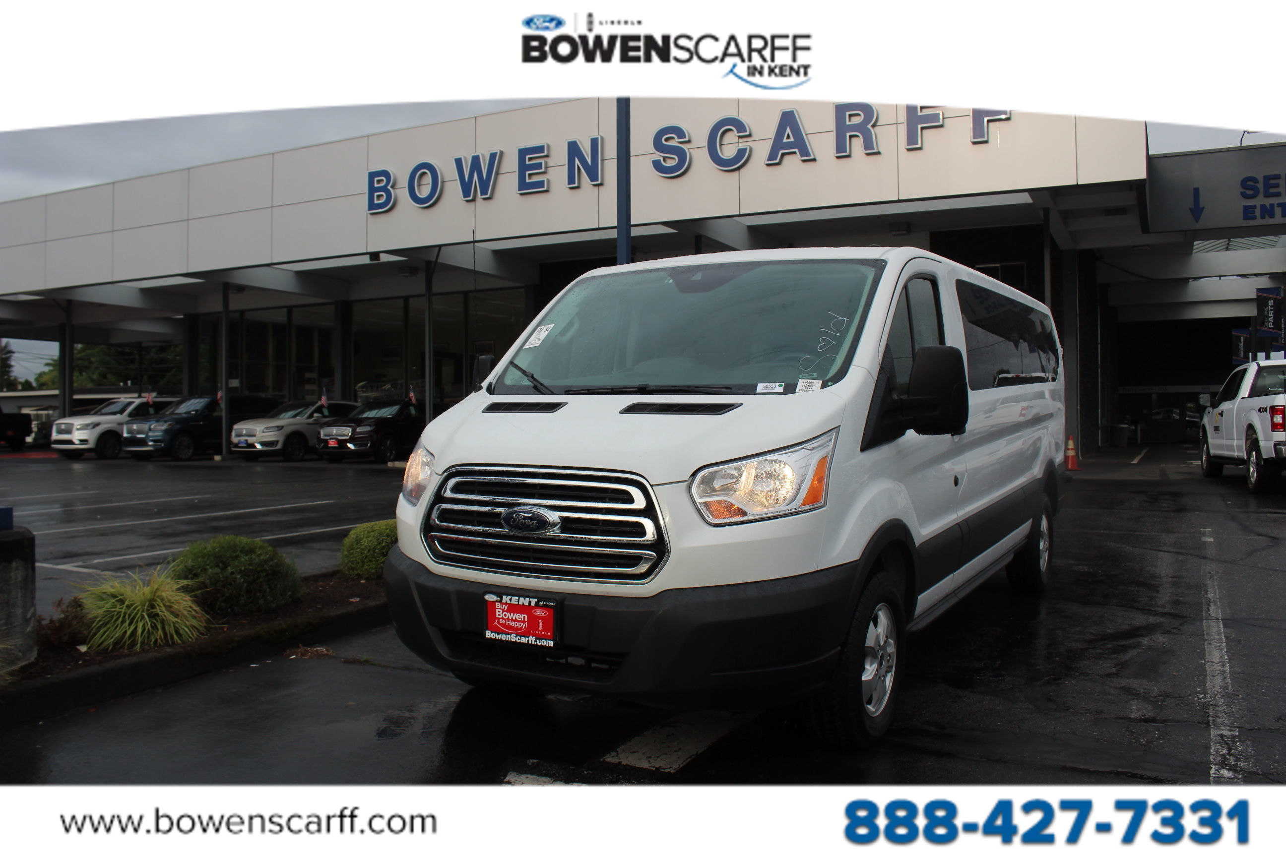 2018 Transit 350 Low Roof 4x2, Passenger Wagon #52553 - photo 1