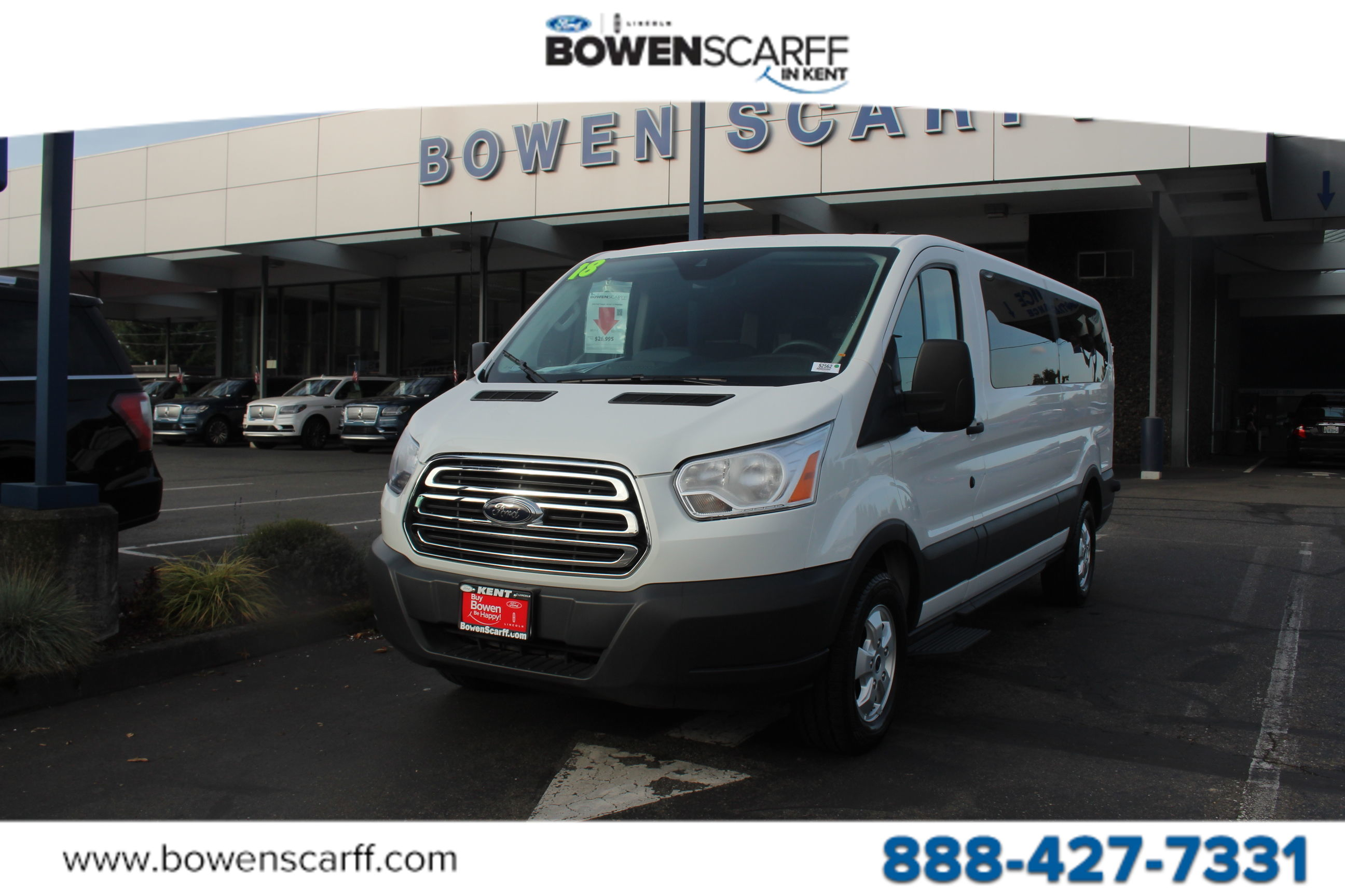 2018 Transit 350 Low Roof 4x2, Passenger Wagon #52562 - photo 1