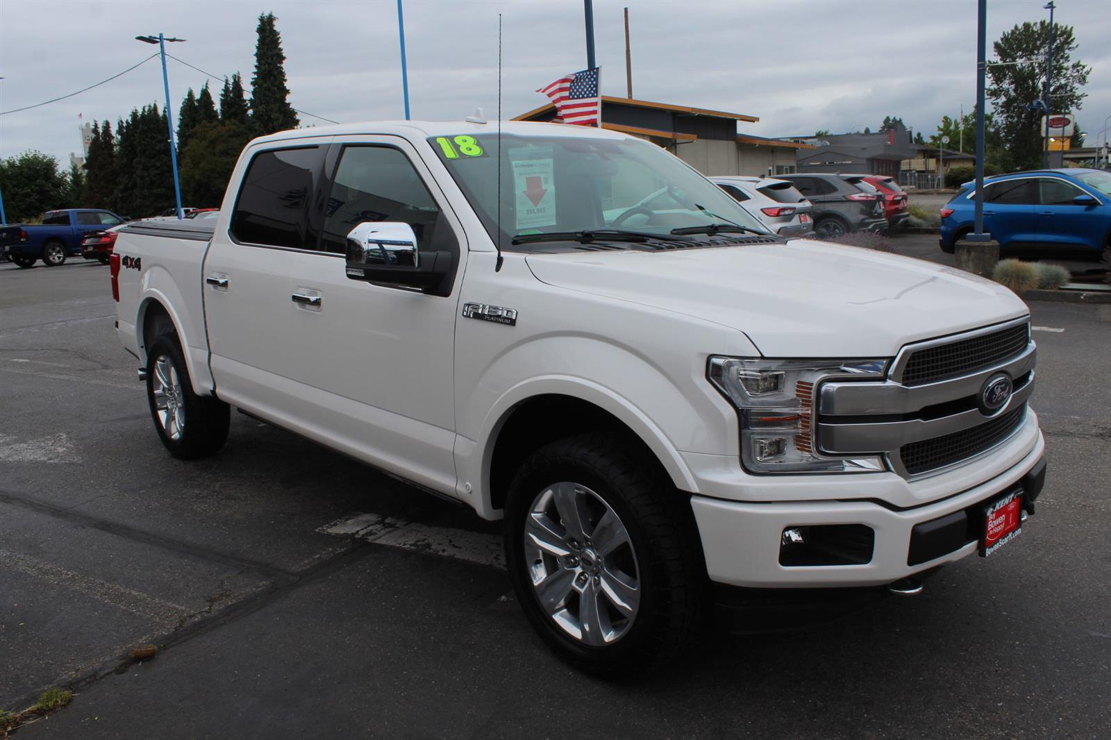 2018 Ford F-150 SuperCrew Cab 4x4, Pickup #52678 - photo 4