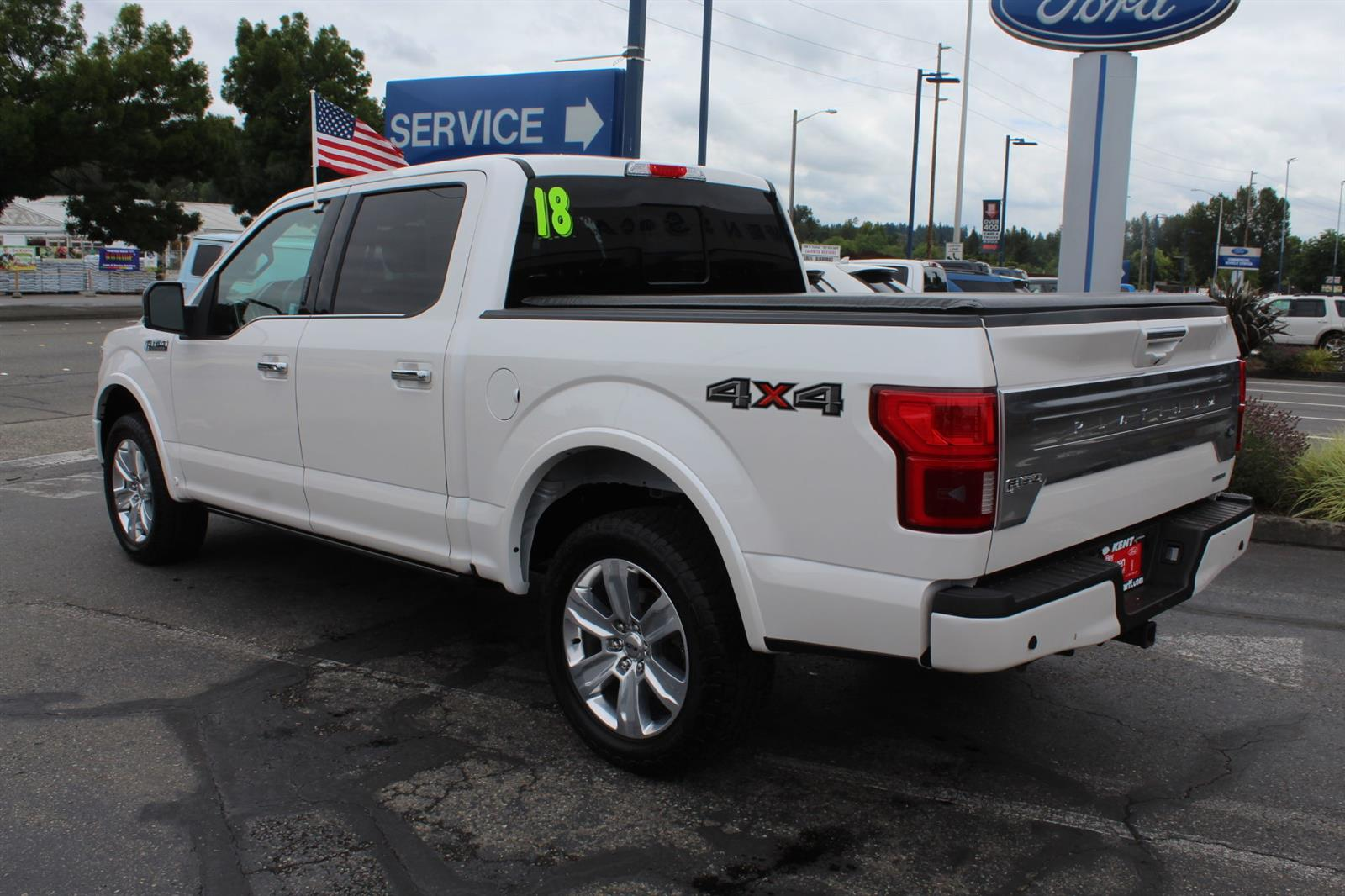 2018 Ford F-150 SuperCrew Cab 4x4, Pickup #52678 - photo 2