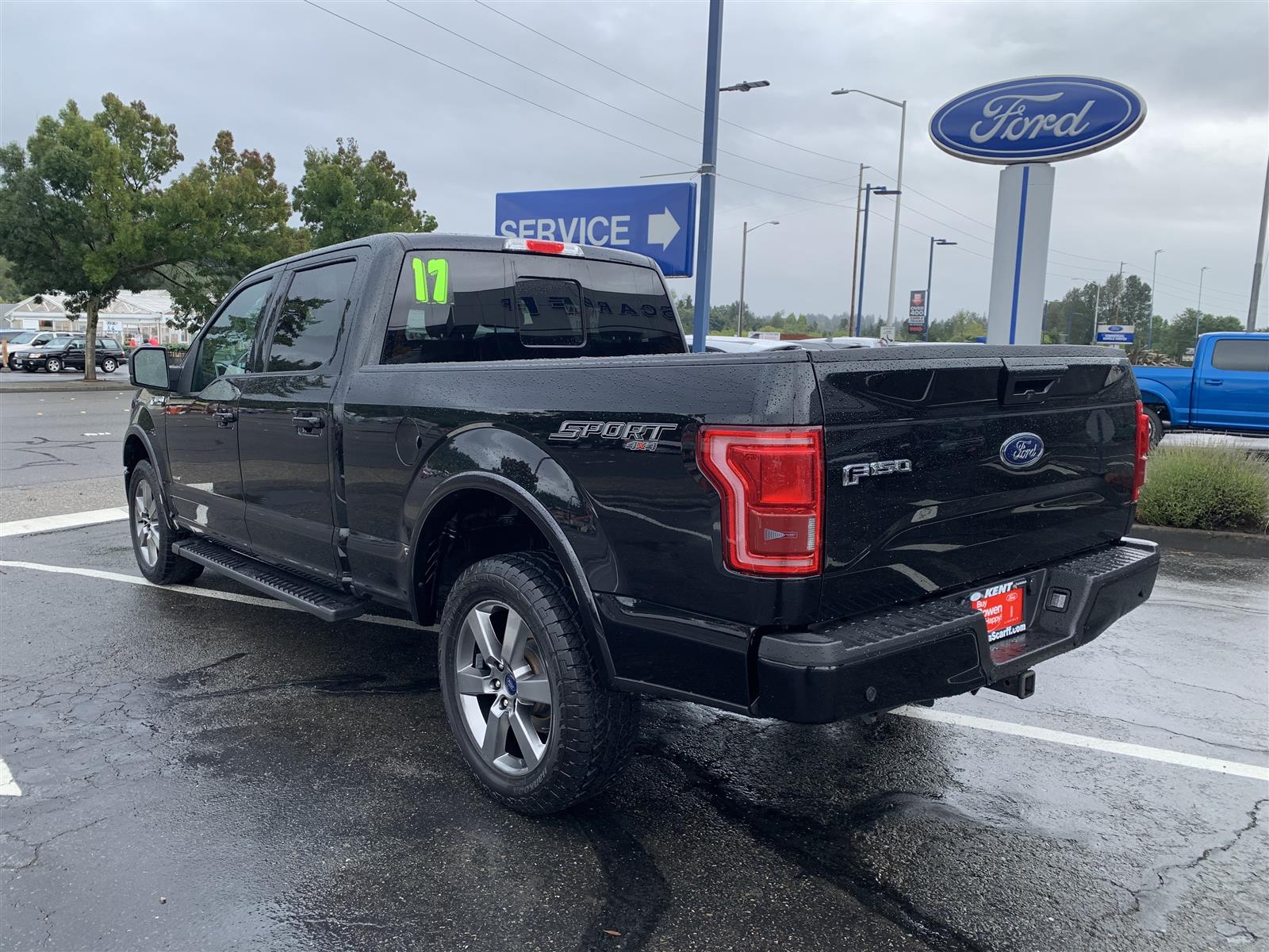 2017 Ford F-150 SuperCrew Cab 4x4, Pickup #52690 - photo 2