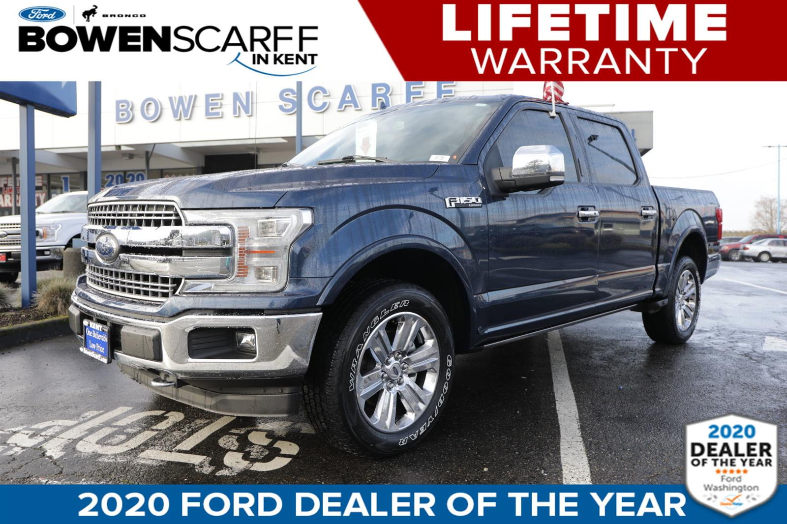 2018 Ford F-150 SuperCrew Cab 4x4, Pickup #52745 - photo 1