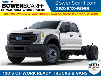 2021 Ford F-550 Crew Cab DRW 4x4, Cab Chassis #9158W5H - photo 1