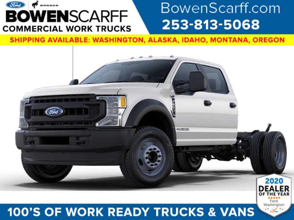 2021 Ford F-550 Crew Cab DRW 4x4, Cab Chassis #9159W5H - photo 1