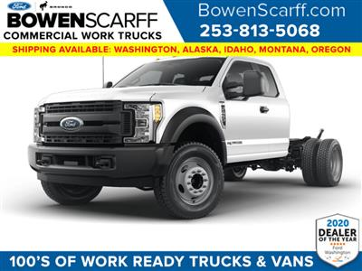 2021 Ford F-450 Super Cab DRW 4x4, Cab Chassis #9163X4H - photo 1