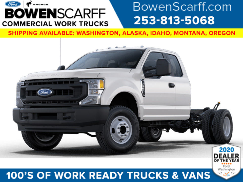 2021 Ford F-350 Super Cab DRW 4x4, Cab Chassis #9174X3H - photo 1