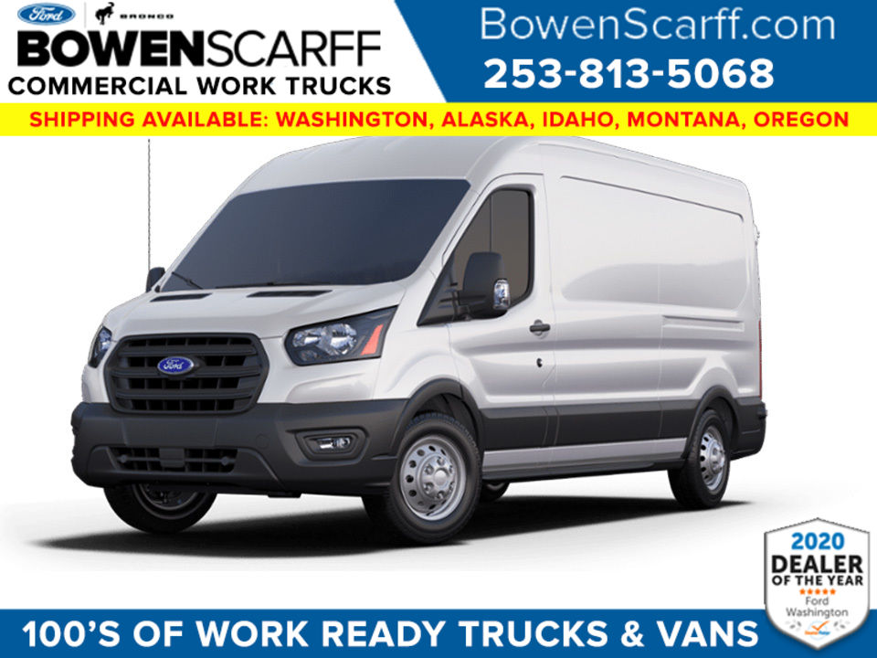 2020 Ford Transit 250 Med Roof AWD, Empty Cargo Van #9214R2C - photo 1