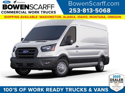 2020 Ford Transit 250 Med Roof AWD, Empty Cargo Van #9215R2C - photo 1