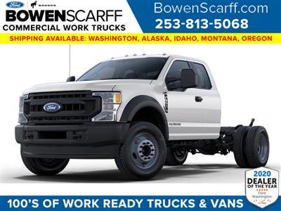 2021 Ford F-550 Super Cab DRW 4x4, Cab Chassis #9267X5H - photo 1