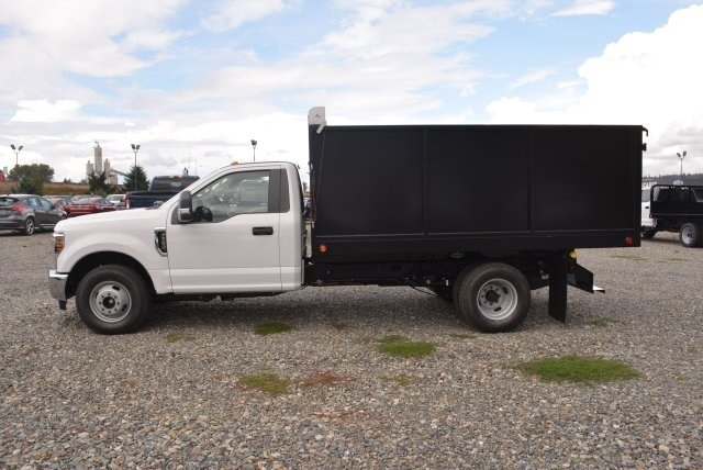 2018 F-350 Regular Cab DRW 4x2,  Landscape Dump #E7765 - photo 3