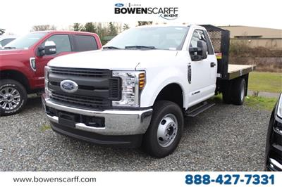 2019 F-350 Regular Cab DRW 4x4,  Platform Body #E8118 - photo 1