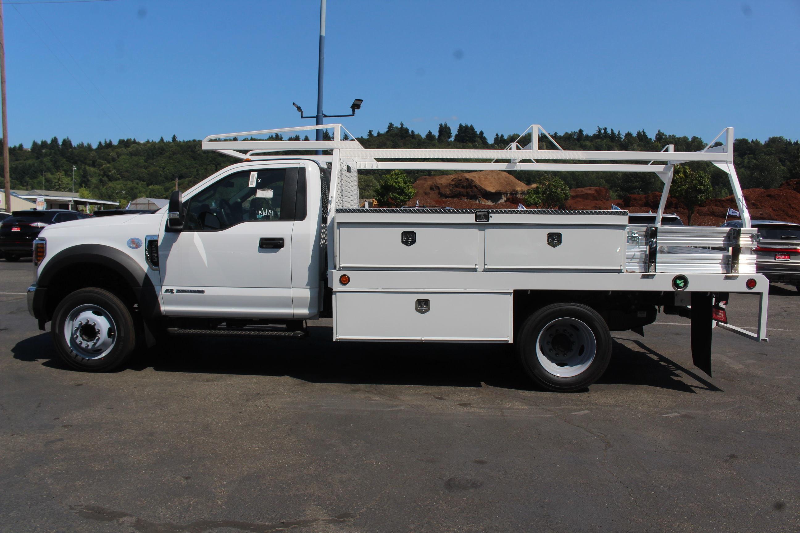 2019 F-550 Regular Cab DRW 4x2, Scelzi CTFB Contractor Body #E8259 - photo 11
