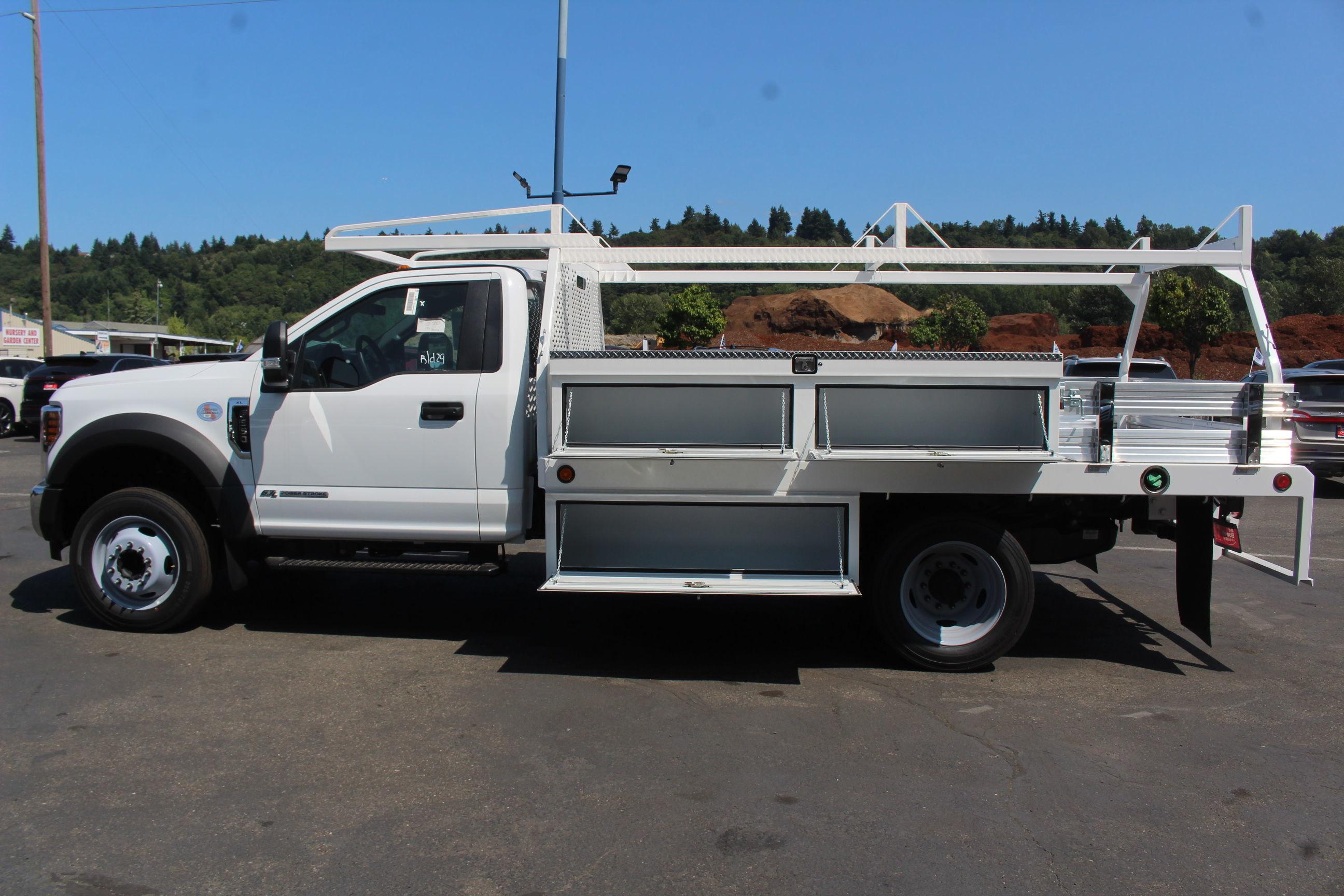 2019 F-550 Regular Cab DRW 4x2, Scelzi CTFB Contractor Body #E8259 - photo 12