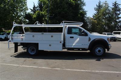 2019 F-550 Regular Cab DRW 4x2, Scelzi CTFB Contractor Body #E8259 - photo 5