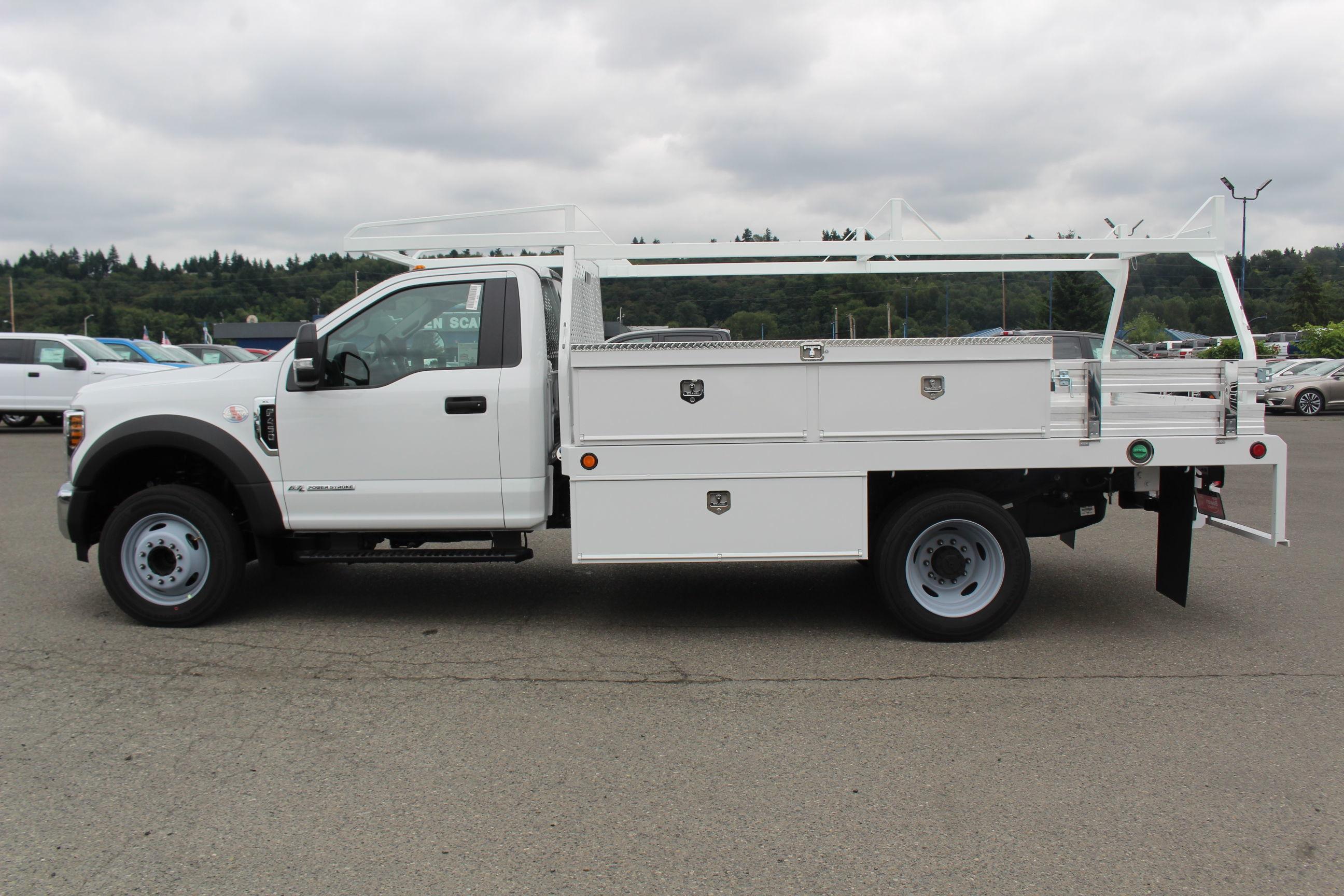 2019 F-450 Regular Cab DRW 4x2, Scelzi CTFB Contractor Body #E8580 - photo 9