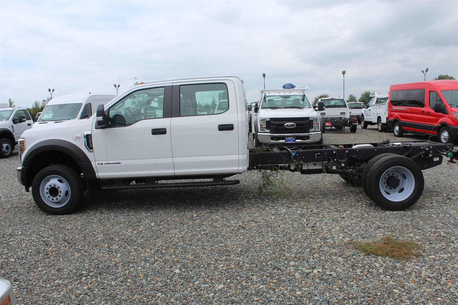 2019 Ford F-450 Crew Cab DRW 4x2, Cab Chassis #E8646 - photo 9