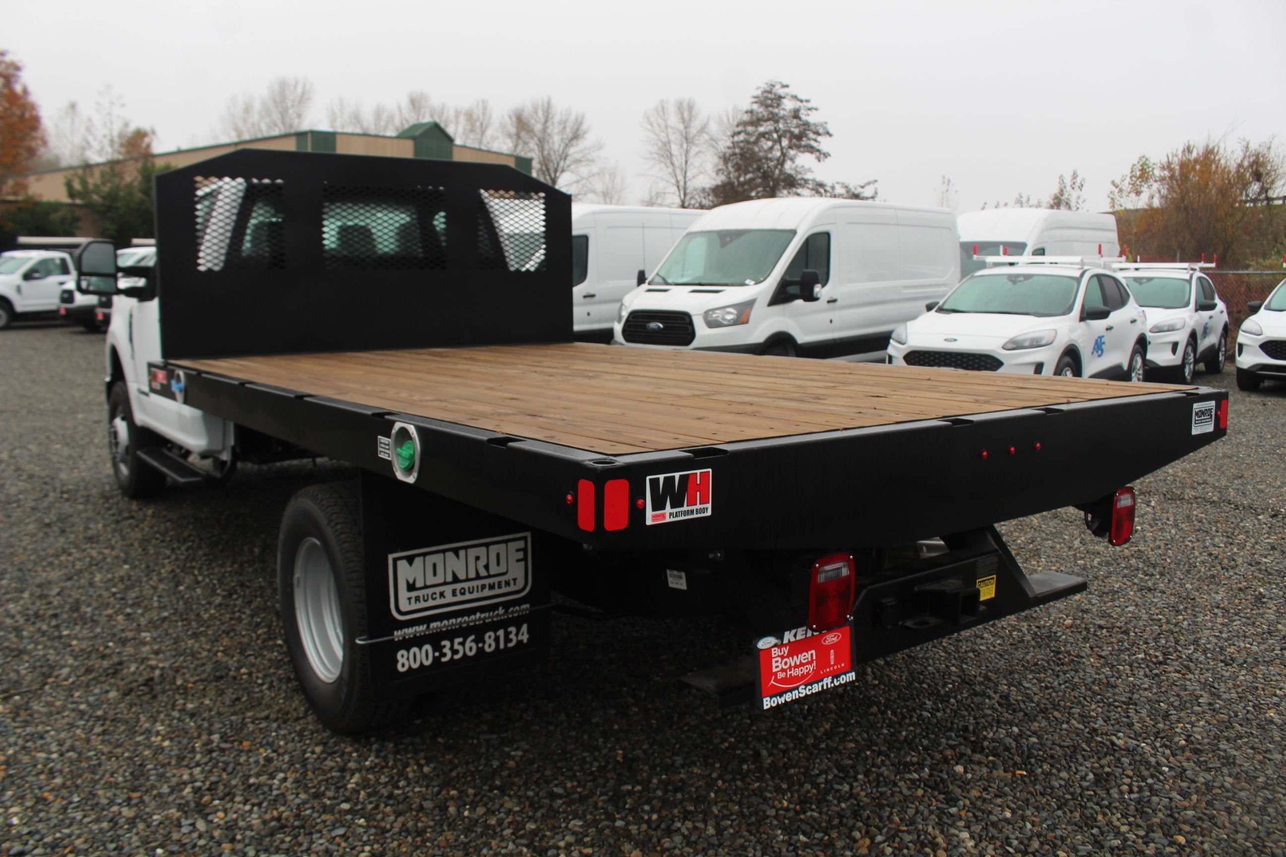 2019 F-350 Regular Cab DRW 4x4, Monroe Platform Body #E8795 - photo 1