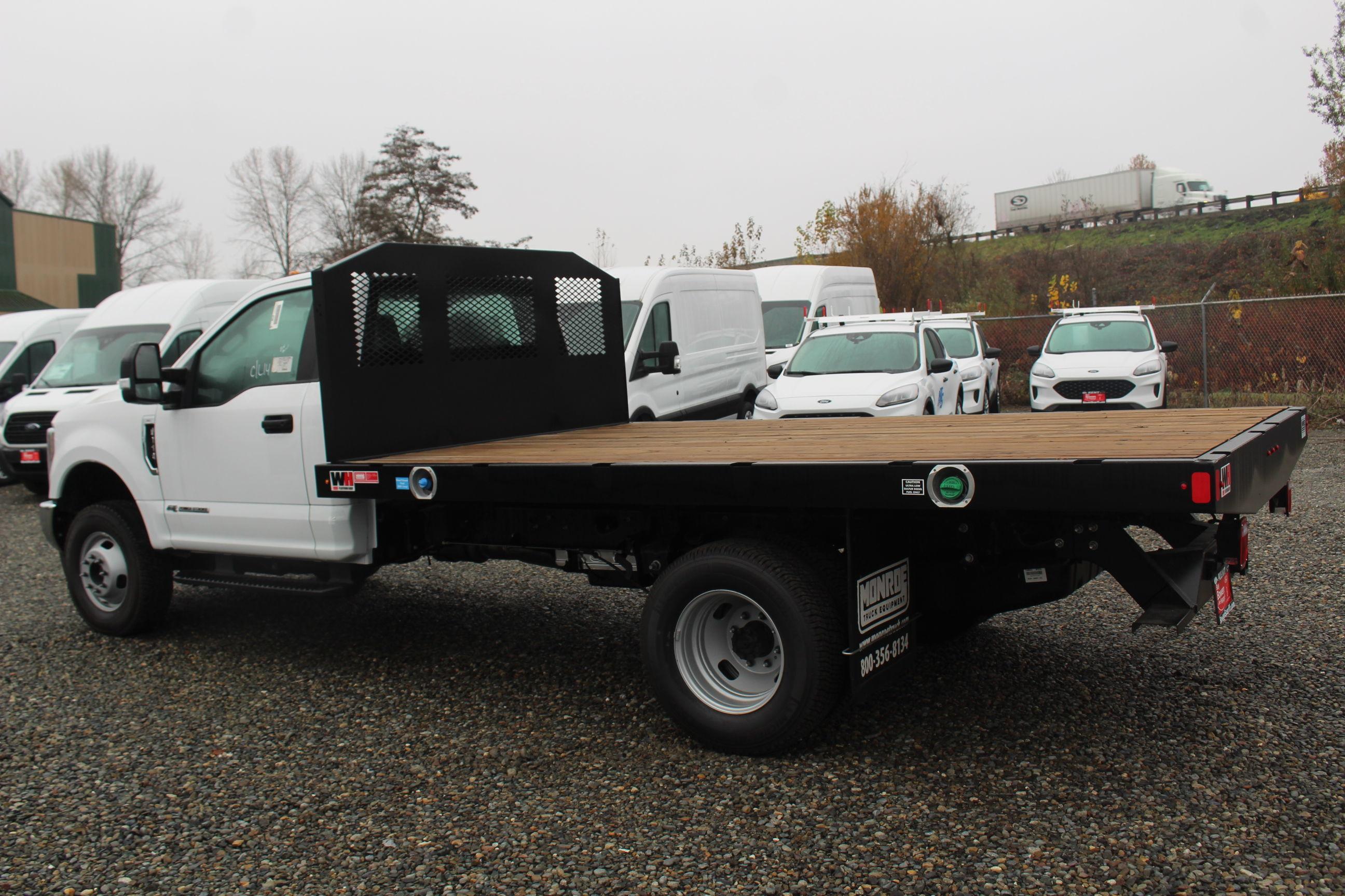2019 F-350 Regular Cab DRW 4x4, Monroe Work-A-Hauler II Platform Body #E8795 - photo 8