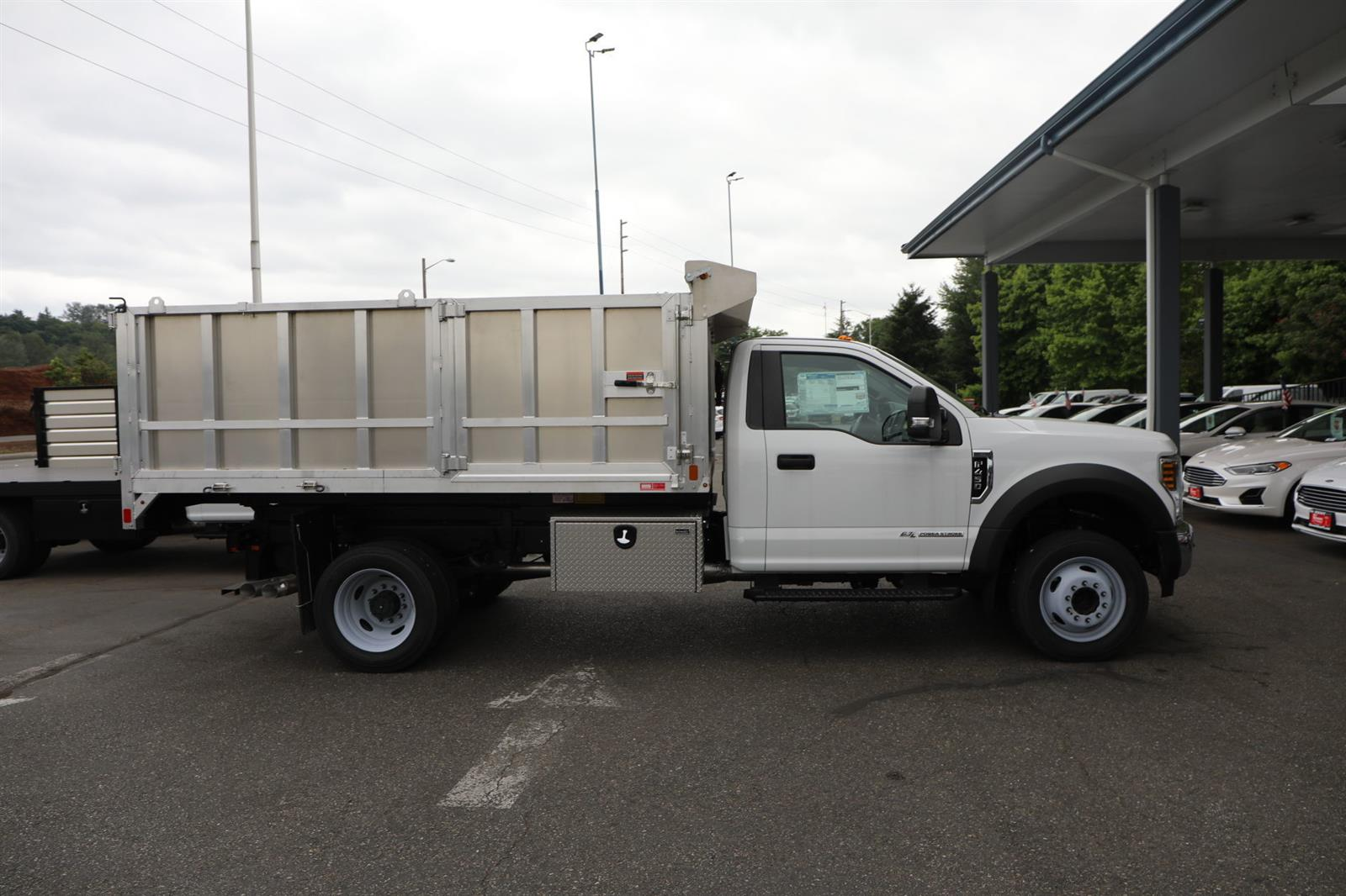 2019 Ford F-450 Regular Cab DRW 4x2, Monroe MTE-Zee Landscape Dump #E8951 - photo 5