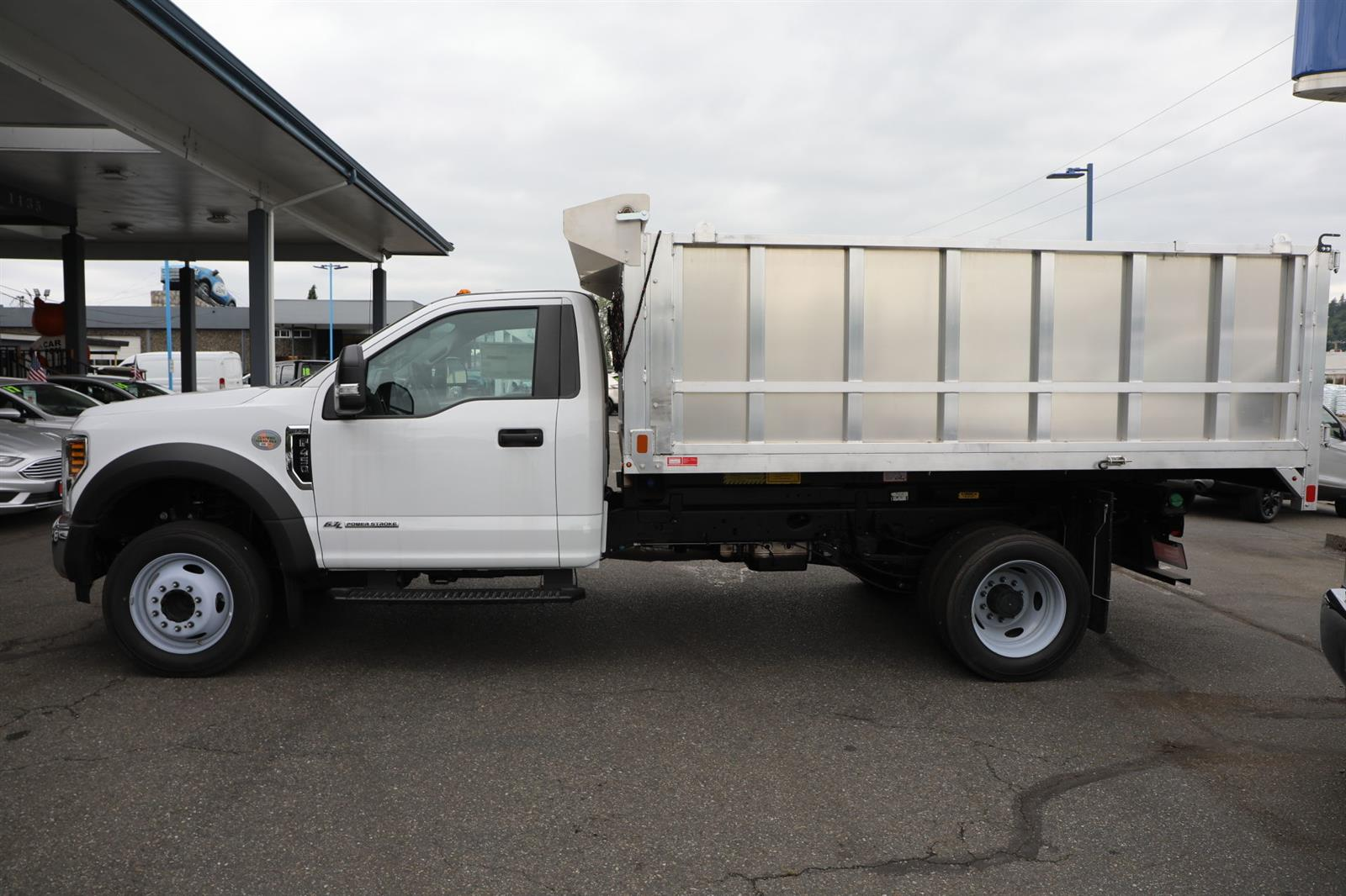 2019 Ford F-450 Regular Cab DRW 4x2, Monroe MTE-Zee Landscape Dump #E8951 - photo 9