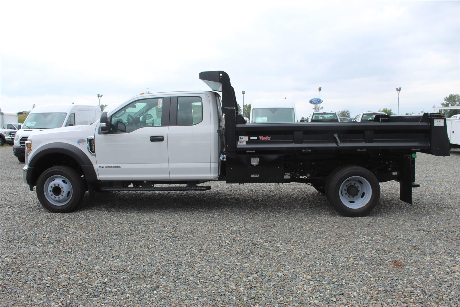2019 Ford F-450 Super Cab DRW 4x2, Rugby Eliminator LP Steel Dump Body #E9082 - photo 9