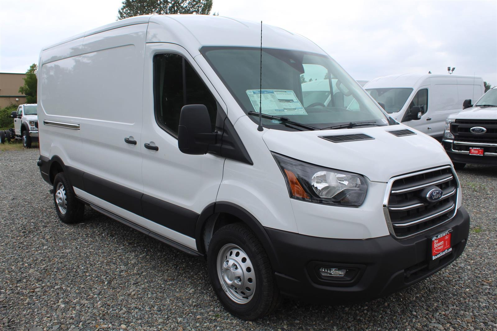 2020 Ford Transit 250 Med Roof AWD, Empty Cargo Van #E9154 - photo 4