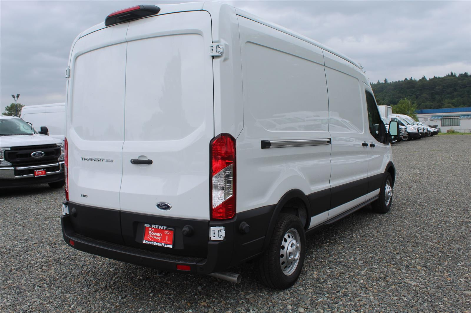 2020 Ford Transit 250 Med Roof AWD, Empty Cargo Van #E9154 - photo 9