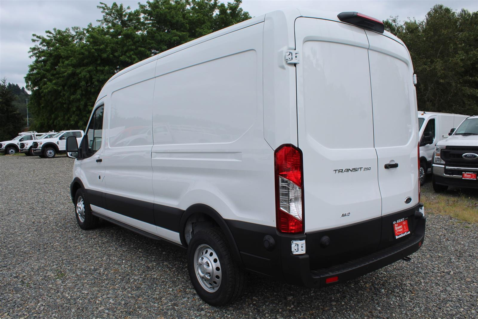 2020 Ford Transit 250 Med Roof AWD, Empty Cargo Van #E9154 - photo 11