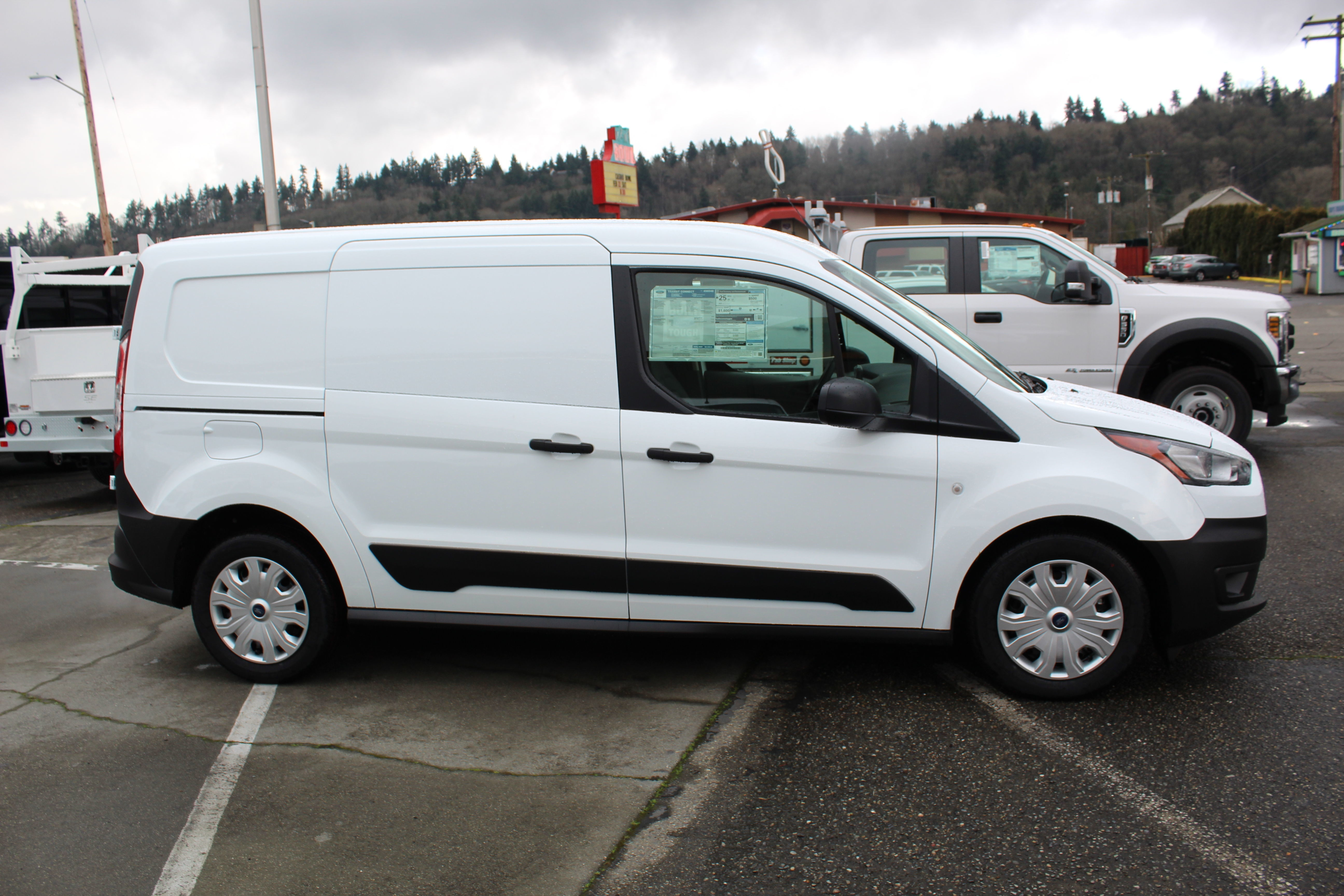 2020 Ford Transit Connect, Empty Cargo Van #E9161 - photo 6