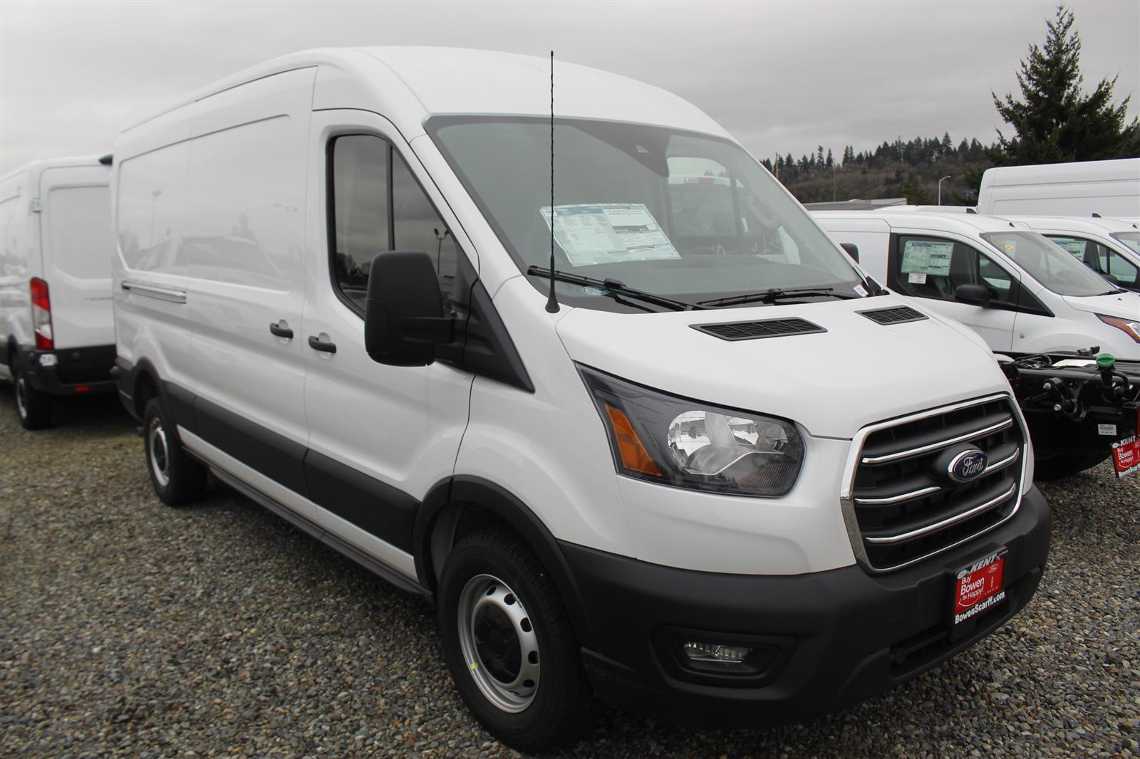 2020 Ford Transit 250 Med Roof RWD, Empty Cargo Van #E9191 - photo 4