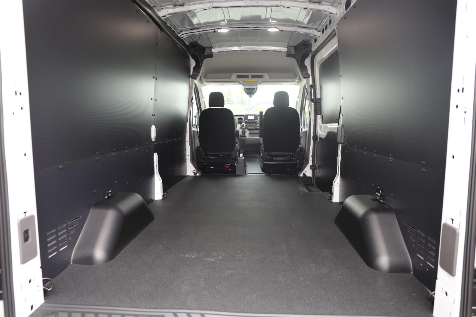 2020 Ford Transit 250 Med Roof RWD, Empty Cargo Van #E9191 - photo 2