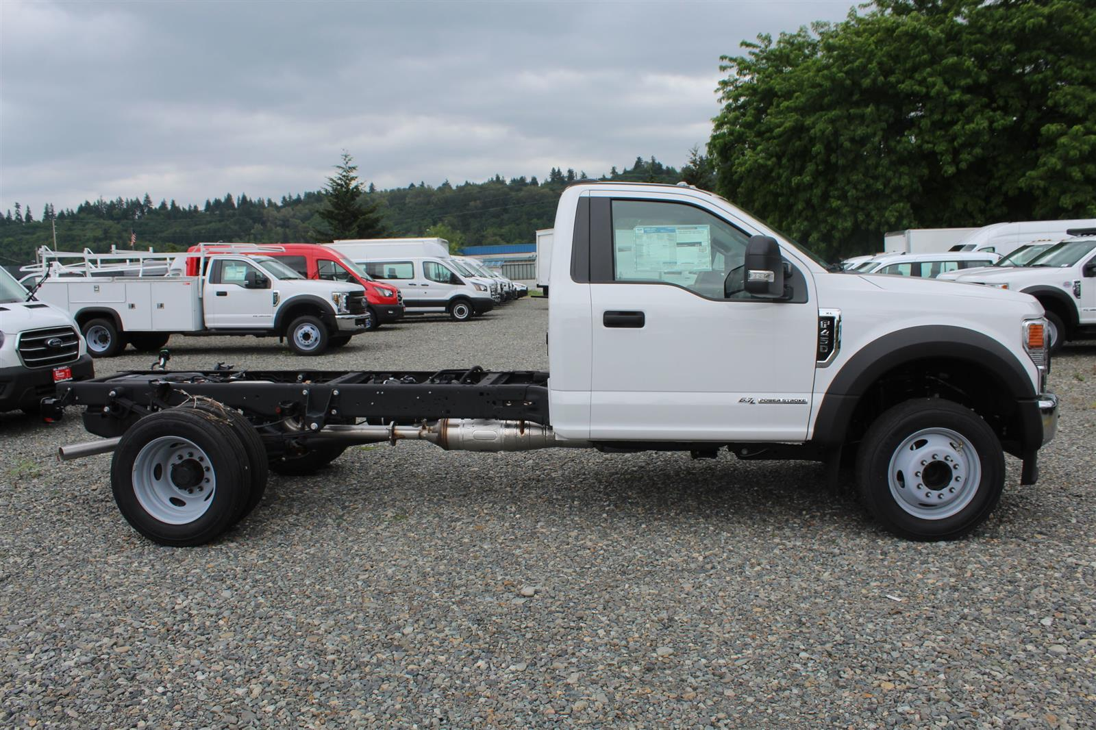 2020 Ford F-450 Regular Cab DRW 4x2, Cab Chassis #E9215 - photo 6