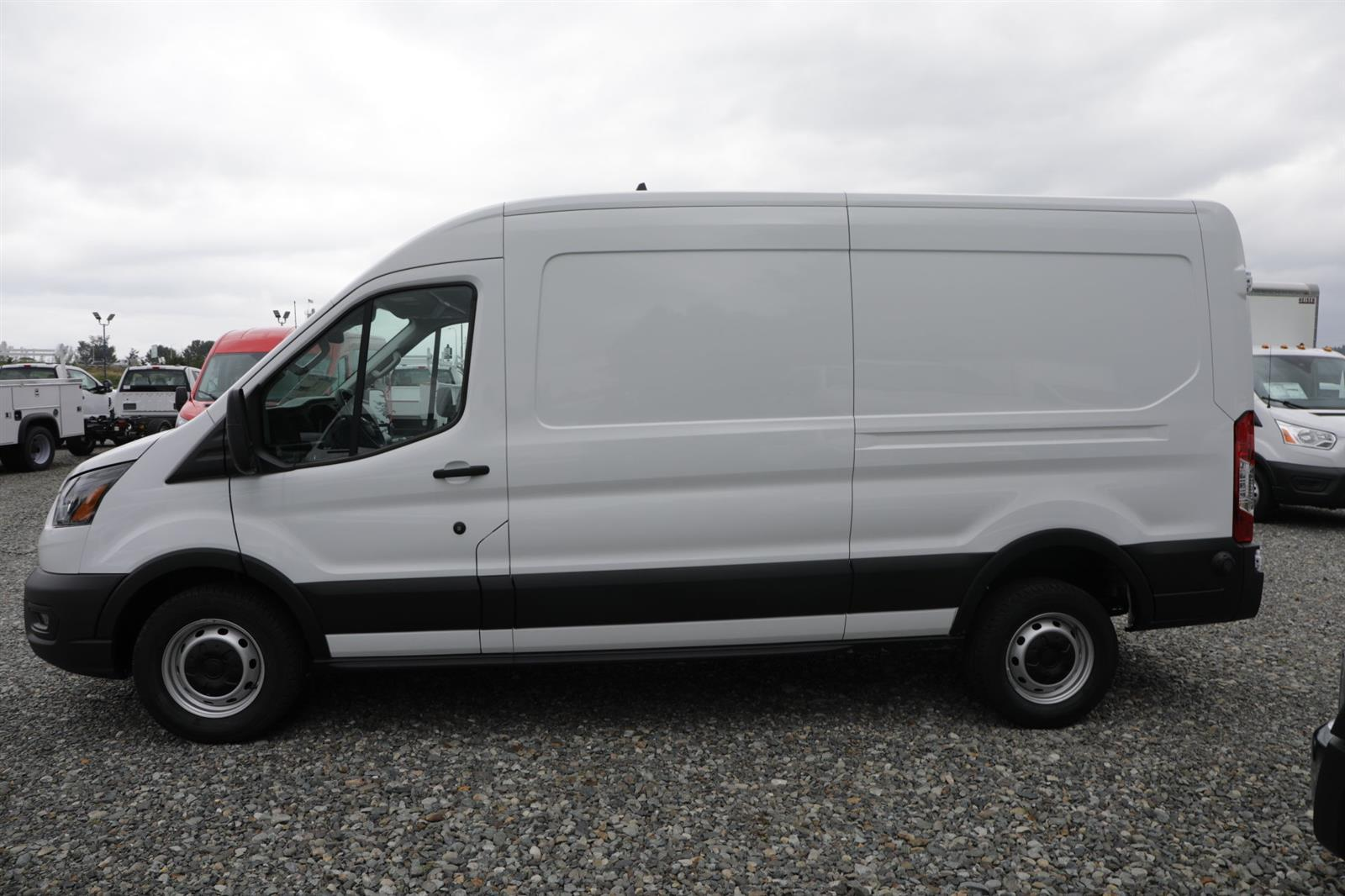 2020 Ford Transit 250 Med Roof RWD, Empty Cargo Van #E9246 - photo 9