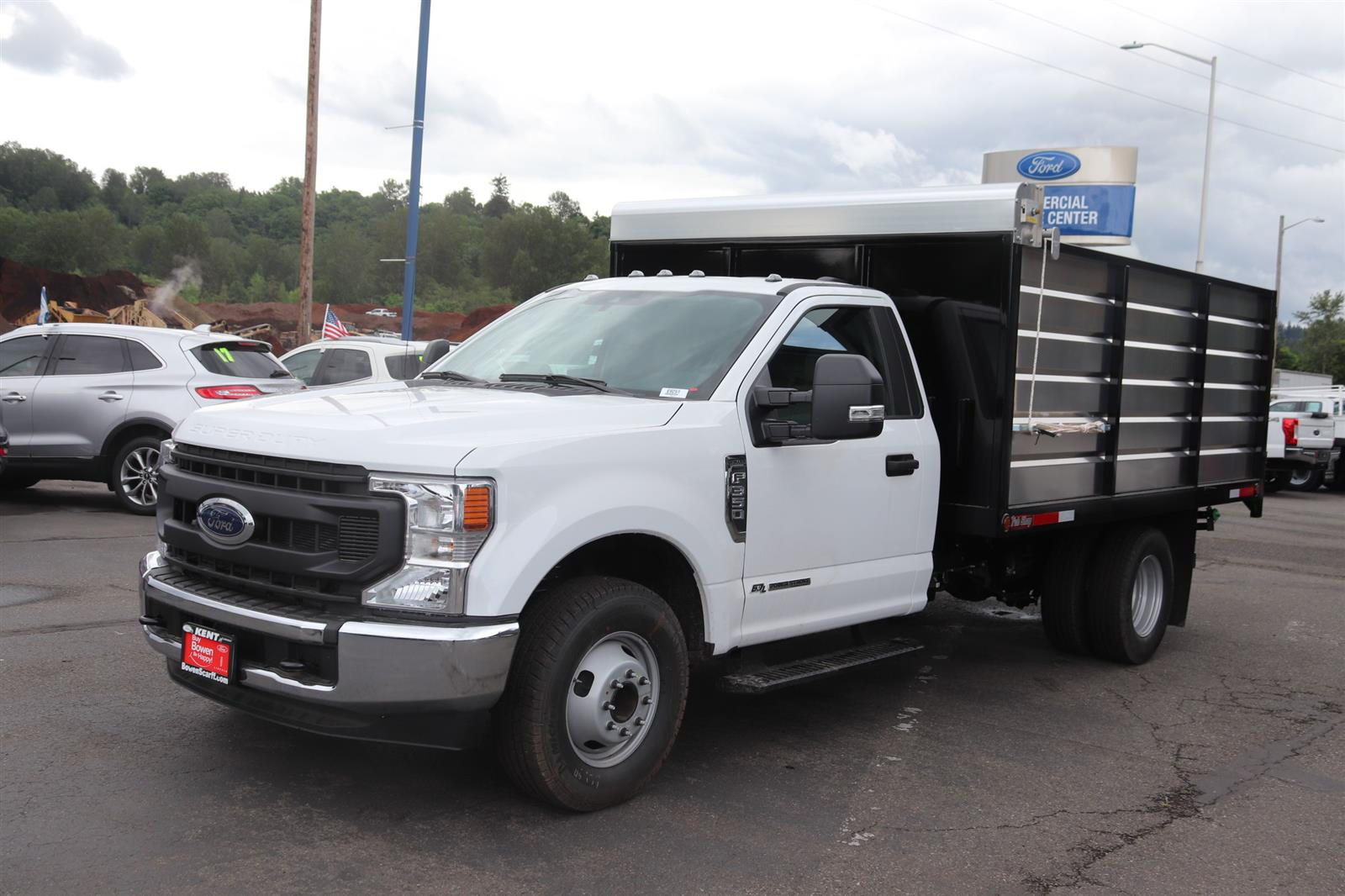 2020 F-350 Regular Cab DRW 4x2, The Fab Shop Landscape Dump #E9251 - photo 1