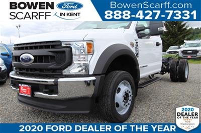 2020 Ford F-550 Regular Cab DRW 4x2, Cab Chassis #E9257 - photo 1