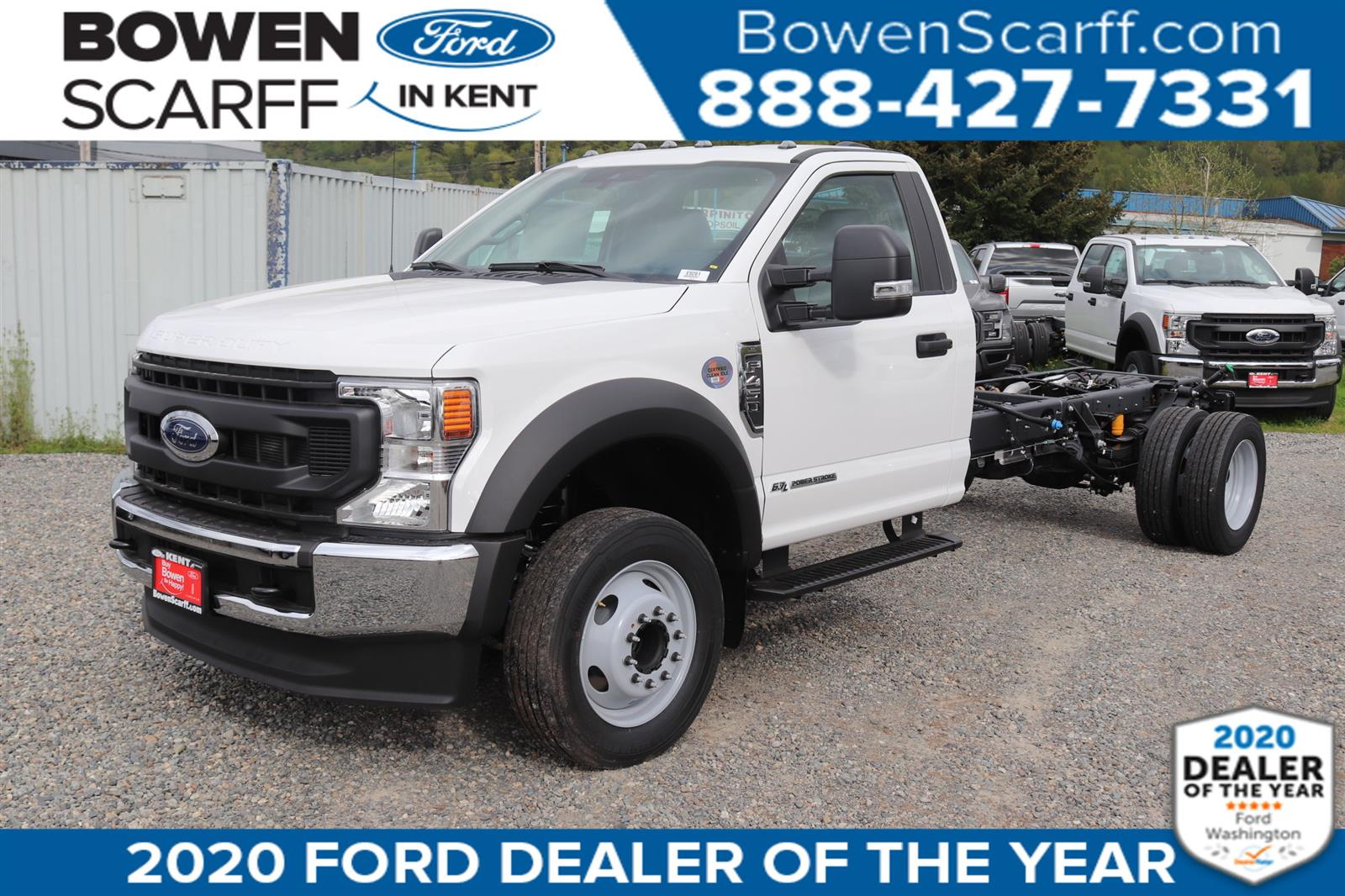 2020 Ford F-450 Regular Cab DRW 4x2, Cab Chassis #E9261 - photo 1