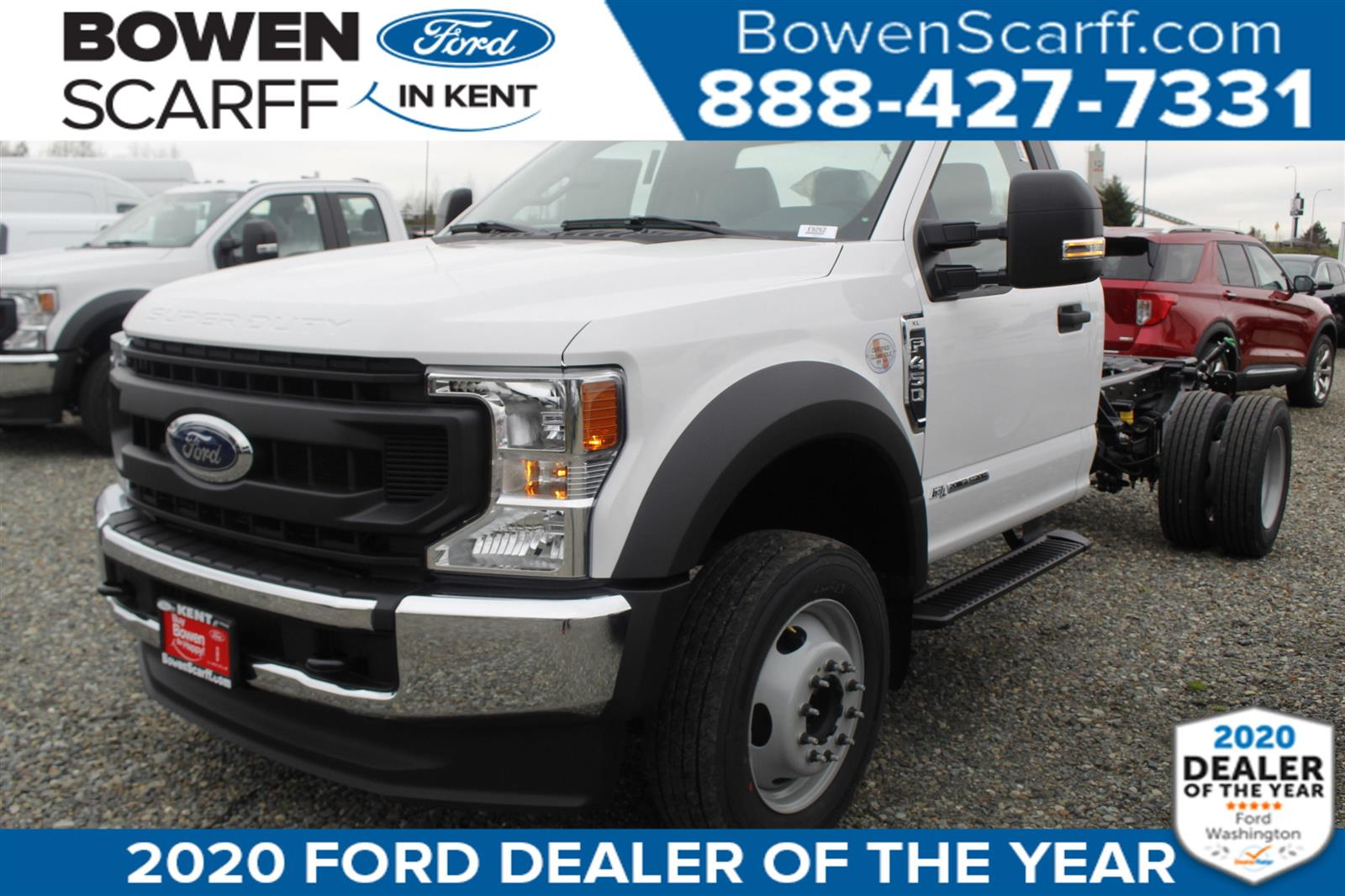 2020 Ford F-450 Regular Cab DRW 4x2, Cab Chassis #E9262 - photo 1